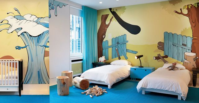 Kids bedroom - ghislaine viñas interior design