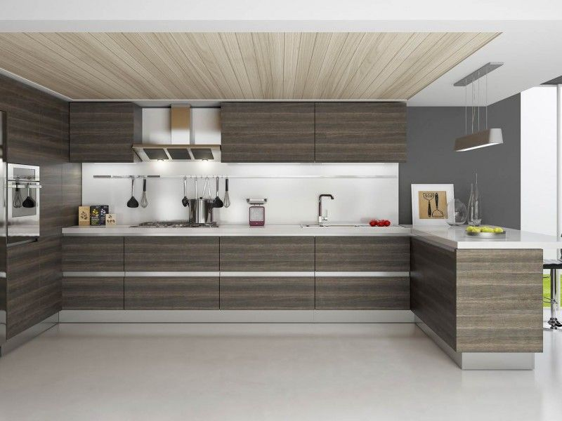 Aspen Oak Rta Modern Kitchen Cabinets