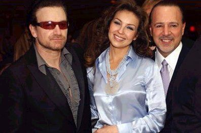 Pin On Bono From U2 With People Celebrities