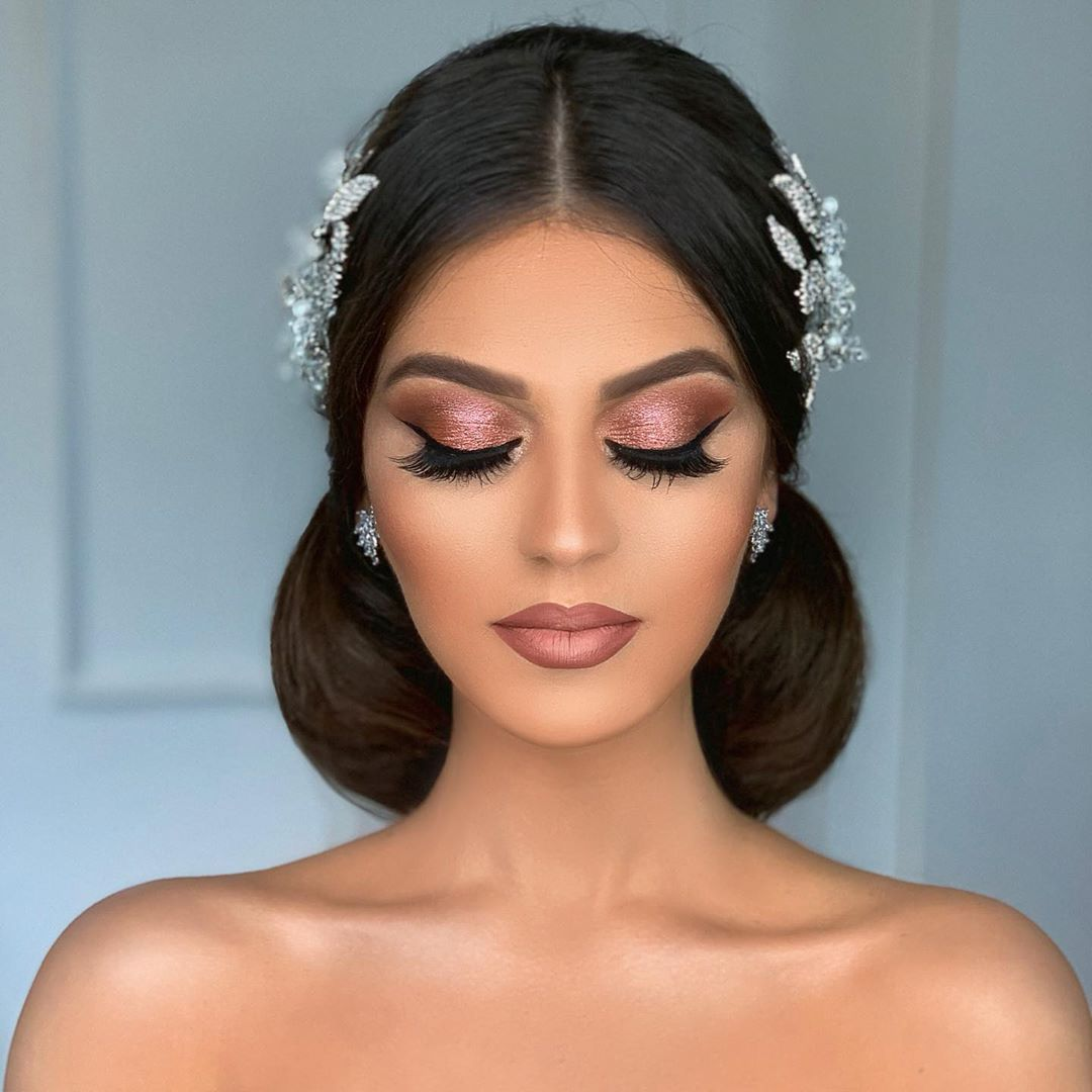 """Arber Bytyqi on Instagram: """"One of our brides #hair and #makeup by #STUDIOArber"""""""