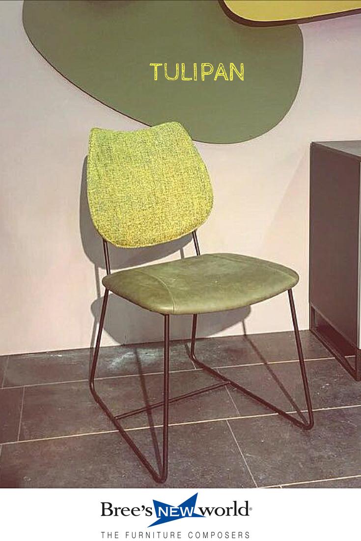 Tulipan, Weer Een Kleurrijke Nieuwe Eetkamerstoel Van Breeu0027s New World.  #diningchair #meubels