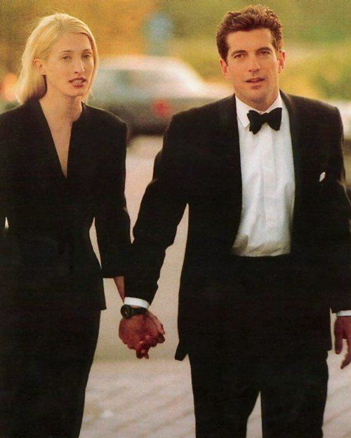 John F  Kennedy, Jr  and Carolyn Bessette | Art & Photography in