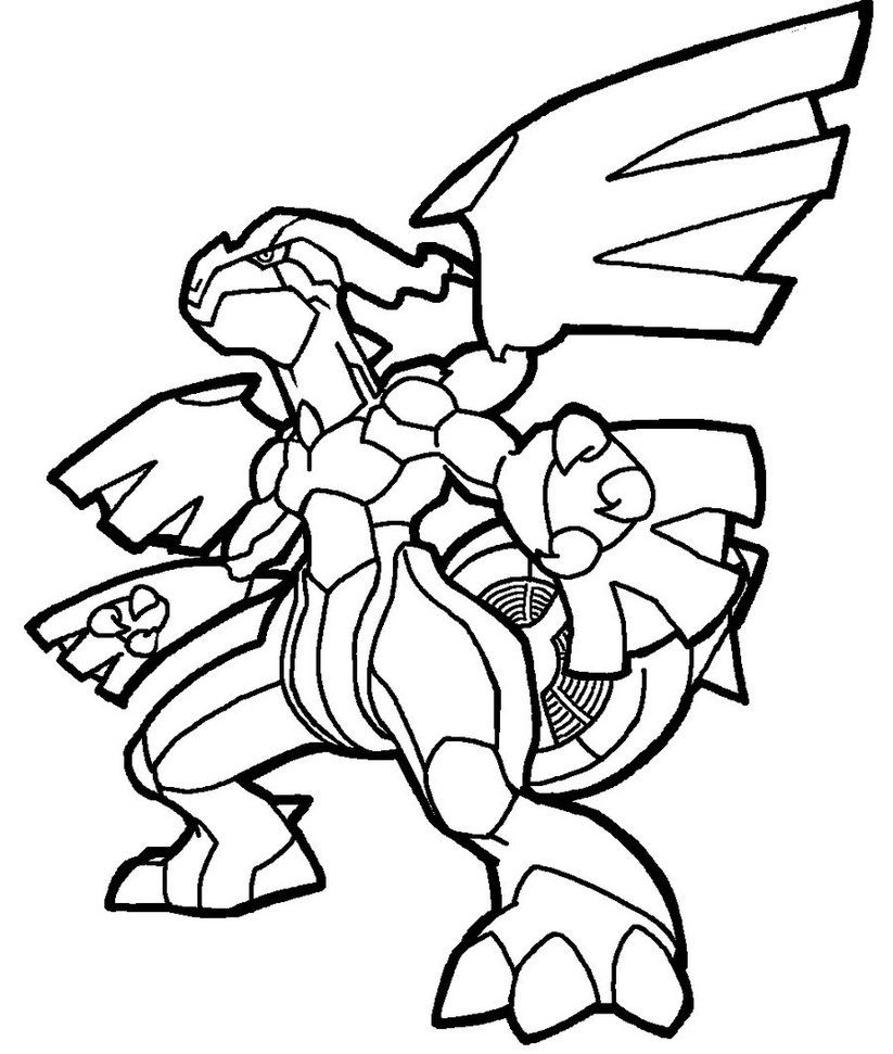 pokemon coloring pages servine wallpaper | Zekrom lineart by Yumezaka on DeviantArt | Coloring pages ...