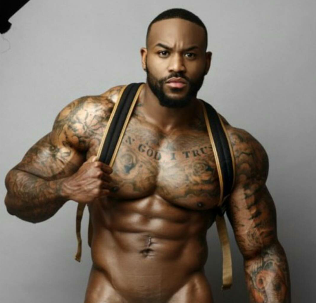 Pin on Hot Muscular Black Men