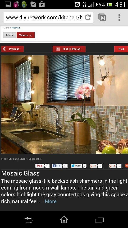 Like this tile color. Backsplash for sink