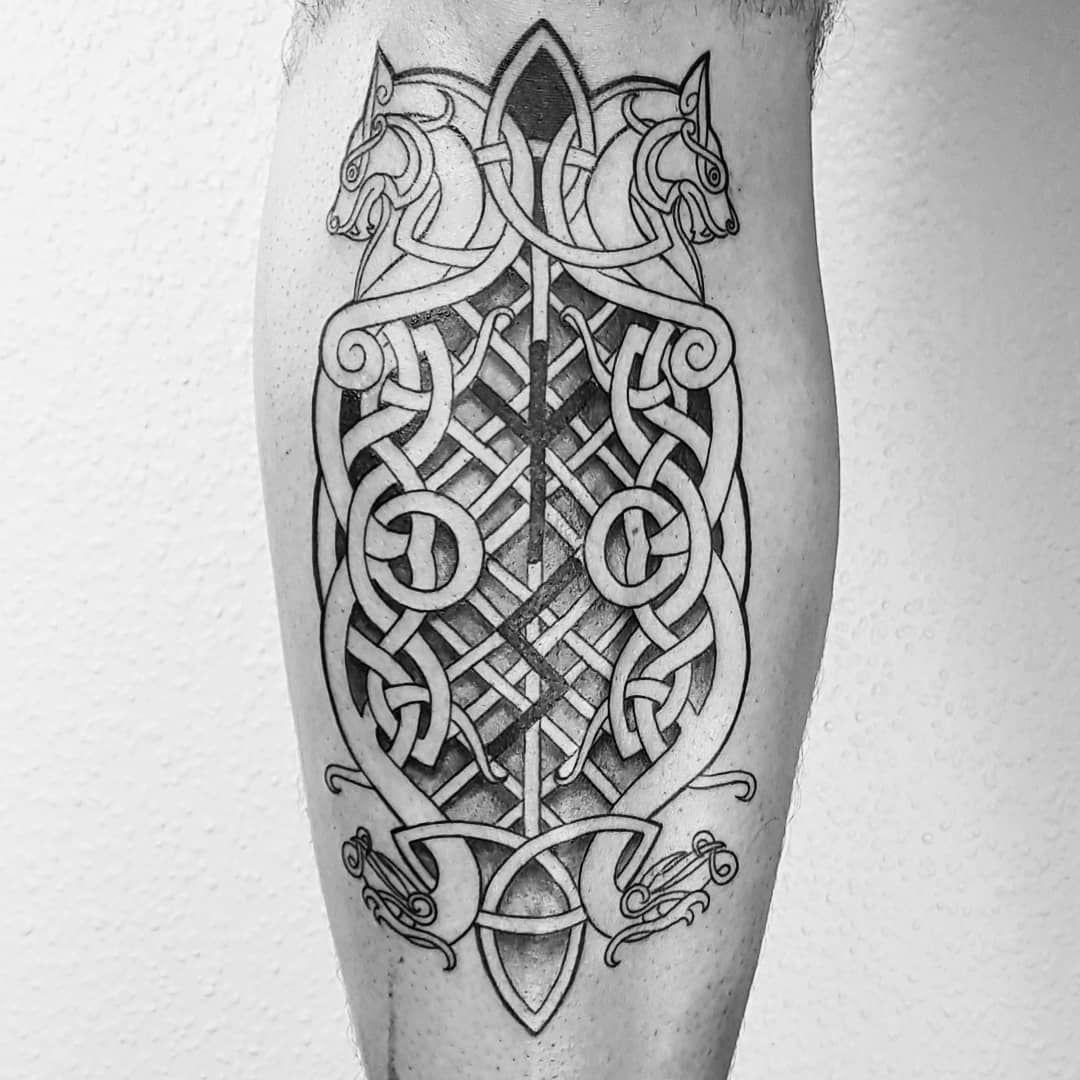 MDK.INK (mdk.ink.official) Celtic Tattoo, Viking (mit