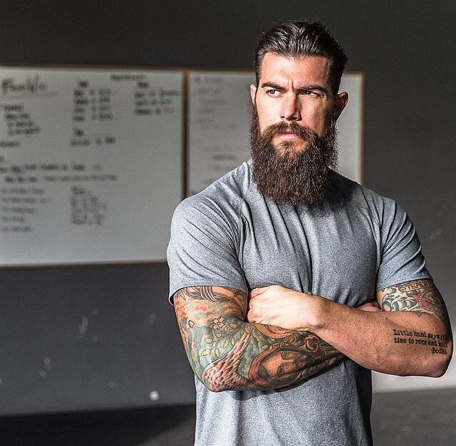 Superb Dave Driskell, My Gorgeous Brilliant Bearded Tatted Muscle Husband.