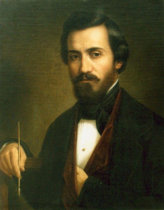 Autoreprezentari: Gheorghe Tattarescu (1820–1894) | Self portrait, Art,  Historical figures