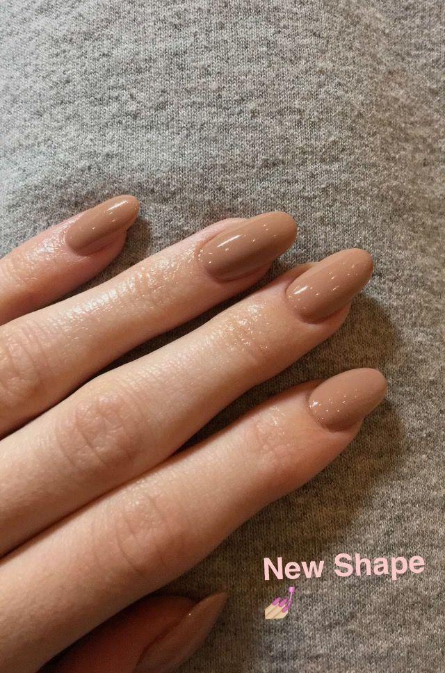 Long Oval Nails Kylie Jenner Nail Designs Pinterest Nails