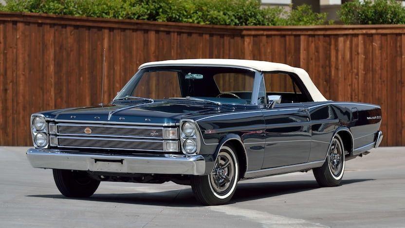 1966 Ford Galaxie 500 7 Litre Convertible S159 Dallas 2019
