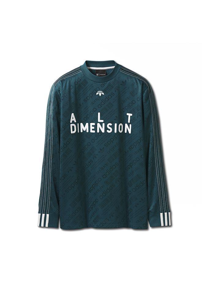 alexander wang adidas originali da oh calcio camicia a maniche lunghe