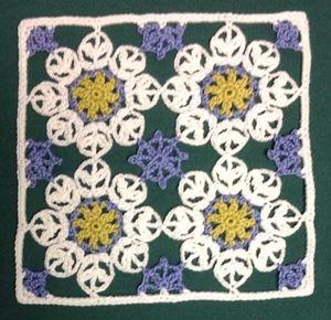 Felissimo Turkish Tile Nº 9 Bloemen Haken Pinterest Blätter