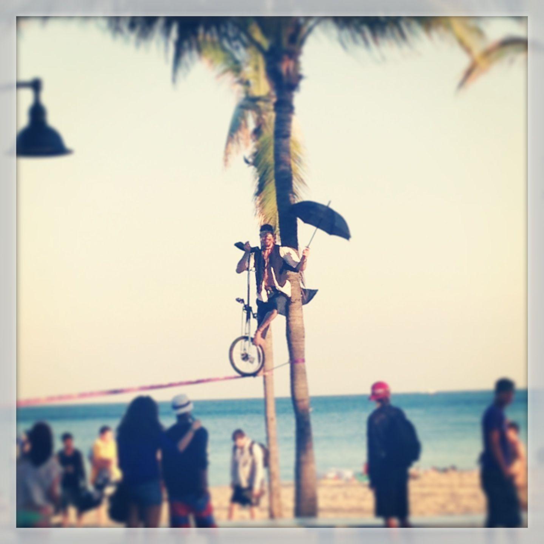 Street circus, Fort Lauderdale, Fl