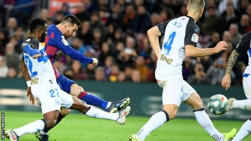 Messi scores 50th goal of 2019.... Messi, Lionel messi