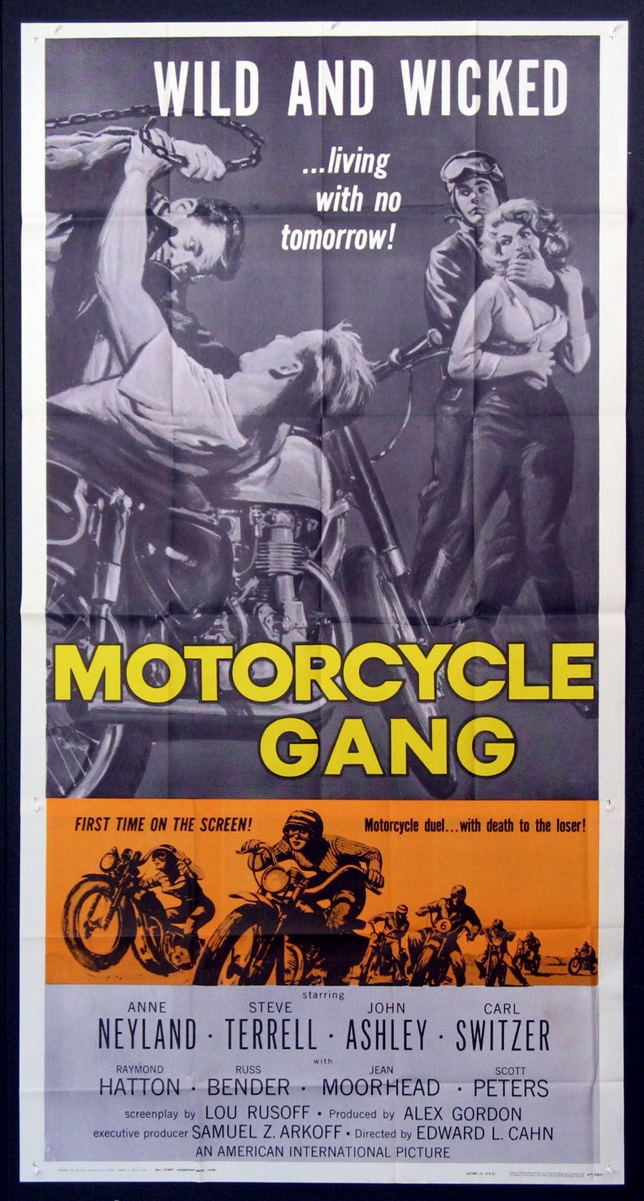 Motorcycle Gang Movie Poster