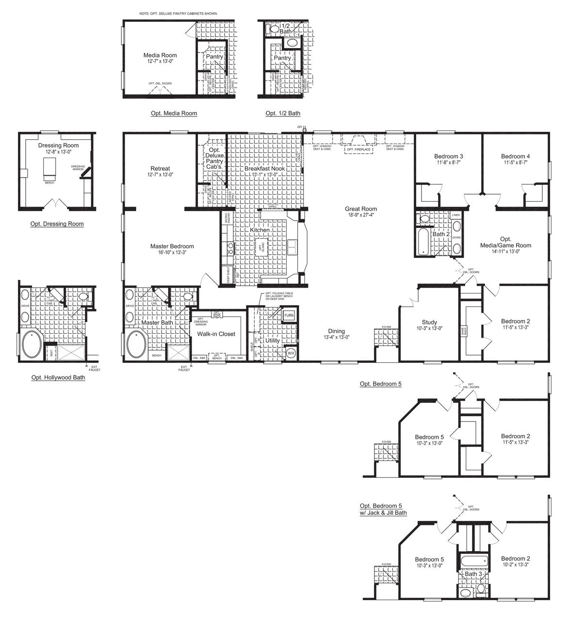 Floor Plan The Evolution VR C