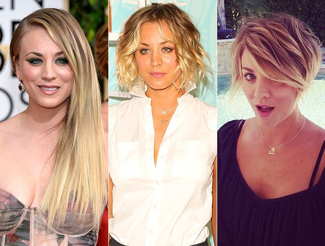 The Best Long To Short Celebrity Hair Transitions Celebrity Short Hair Celebrity Hairstyles Long To Short Hair