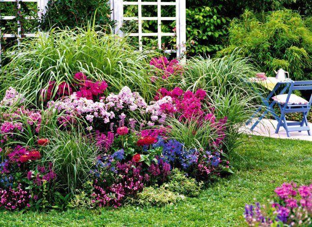 Rabata Z Trawami Beautiful Gardens Amazing Gardens Garden Inspiration
