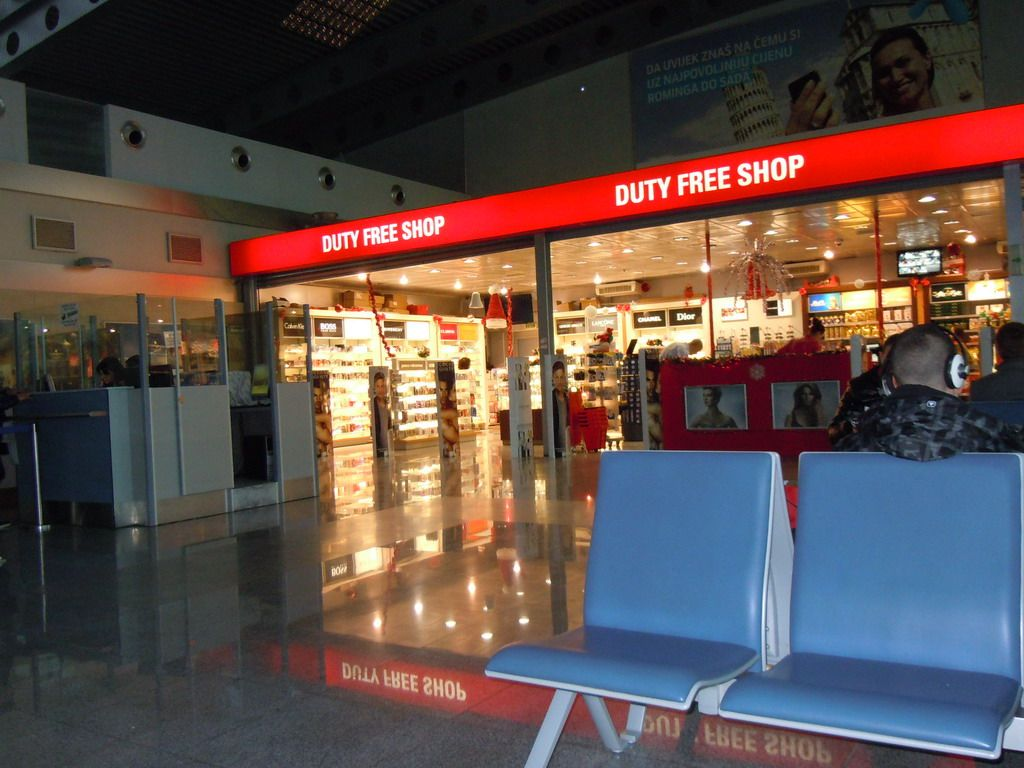 Podgorica Airport Podgorica Montenegro Free Shopping