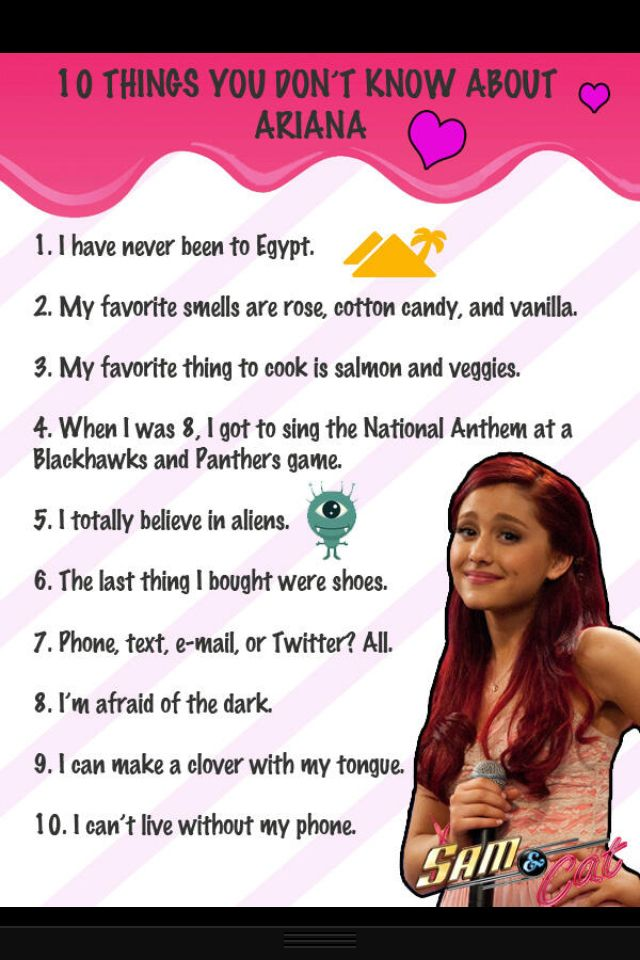 here are some facts you may not know ariana grande