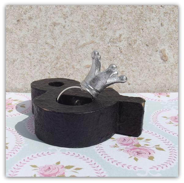 Kroontjes ring, een prinses waardig. van Het Huis van Makers op DaWanda.com