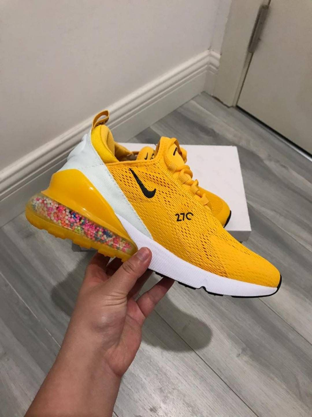 Nike Air Max 270 Shoes Candy Custom Nike Custom Beads Shoes ...
