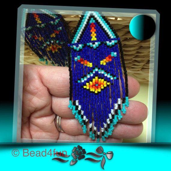 Seed Beaded Earrings, Name:
