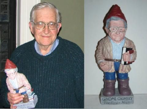 I'm not usually very punny but Gnome Chomsky is making me smile. Via @openculture http://goo.gl/lDVIB0