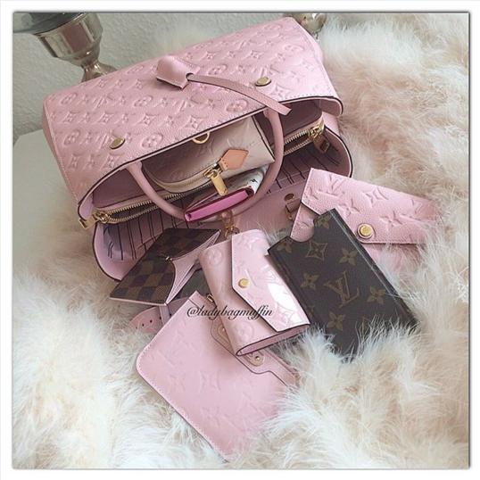 Louis Vuitton Rose Ballerine Bags