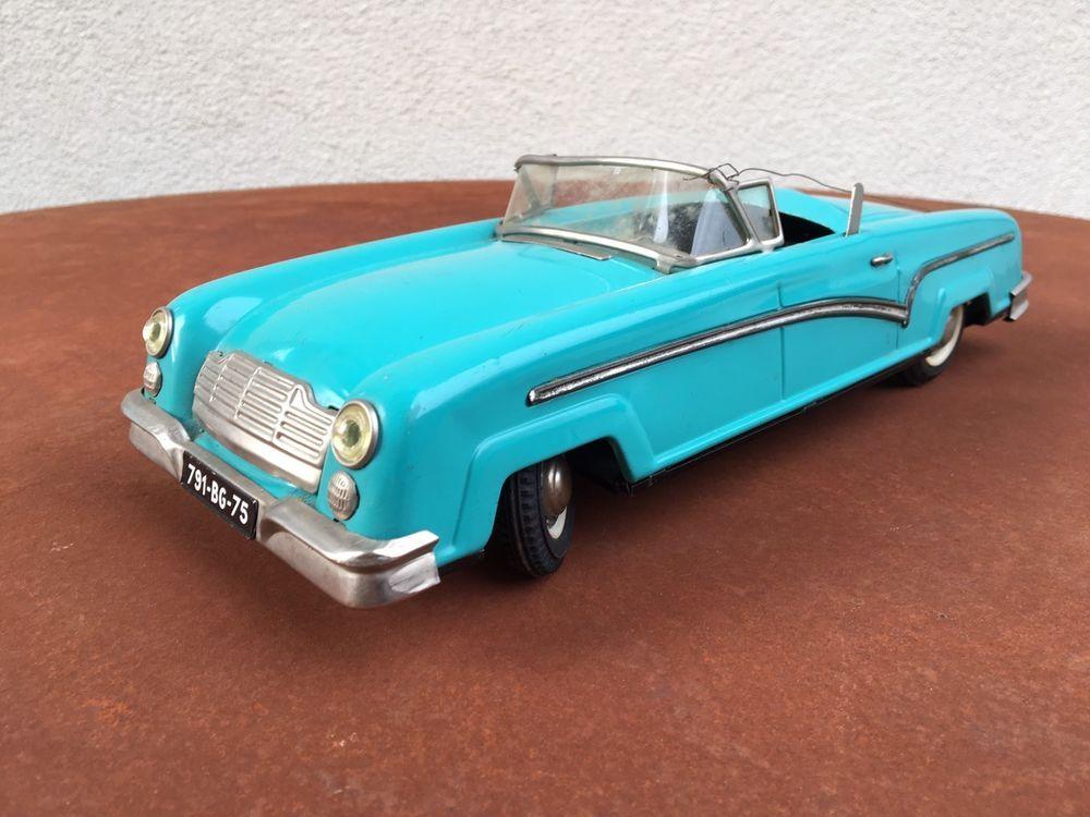 voiture jouet ancien cabriolet joustra cadillac t le m canique jep memo jouets jeux. Black Bedroom Furniture Sets. Home Design Ideas