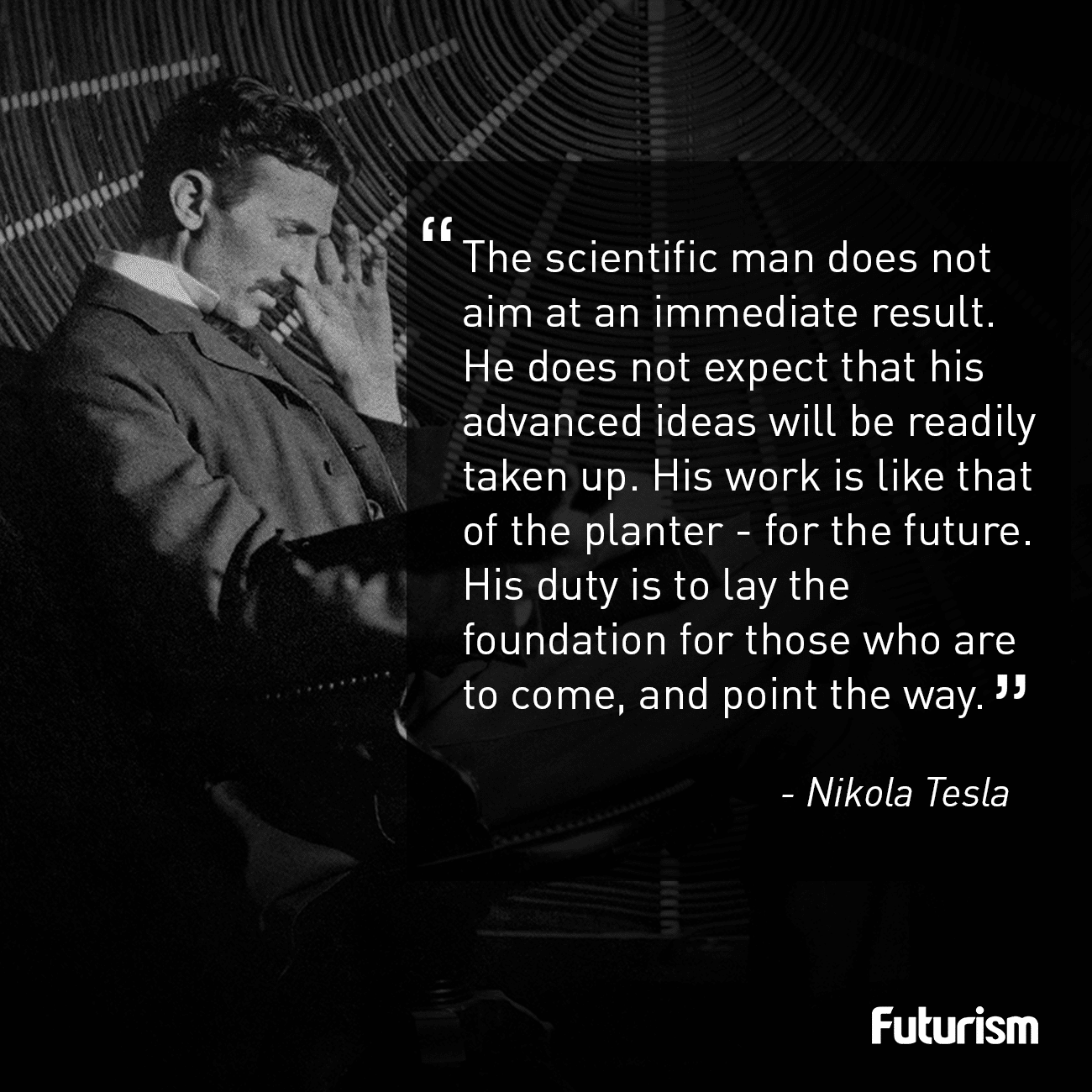 Tesla Quote Futurism Tesla Quotes Fact Quotes Science And Technology News