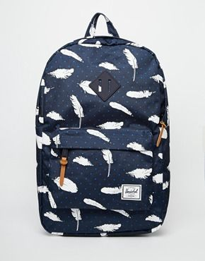 e6934bd56eb Herschel Supply Co Heritage Backpack in Feather Print