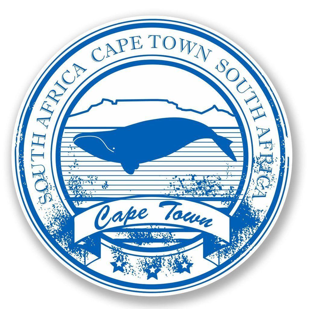 2 X Cape Town South Africa Vinyl Sticker Laptop Travel Luggage Car 5859 Atividades De Aprendizagem Selos Cidade [ 1024 x 1024 Pixel ]