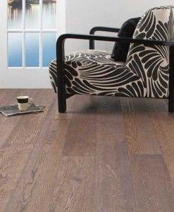 Atkinson & Kirby Concept Elite Engineered Dusky Grey Oak Floor Double Brushed Hardwax Oiled