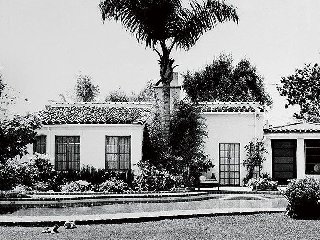 Marilyn Monroe House In Brentwood photobarry feinstein. magnum distribution. los angeles 4th