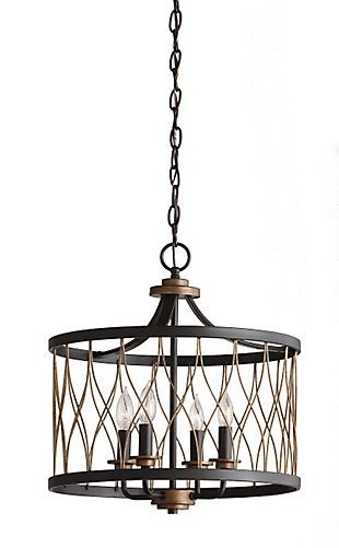 Drum Pendant Lighting, Home Depot Canada Led Chandelier Bulbs
