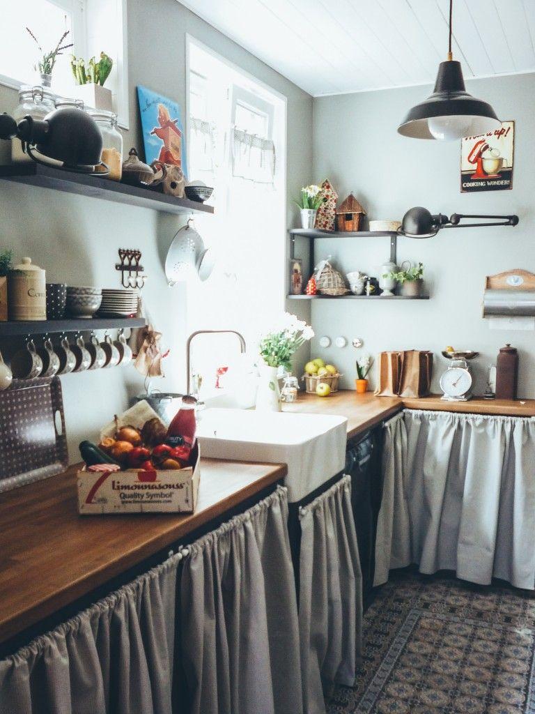Notre maison des ann es 30 la cuisine avant apr s et ses carreaux de ciment cuisine salon - Maison des annees 30 ...