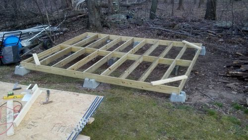 Floor Joist Spacing Shed Google Search Sheds
