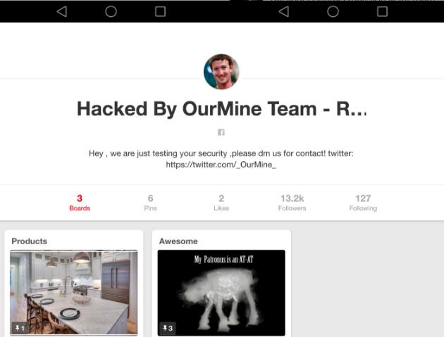Zuckerberg's Twitter, Pinterest, LinkedIn accounts hacked ...