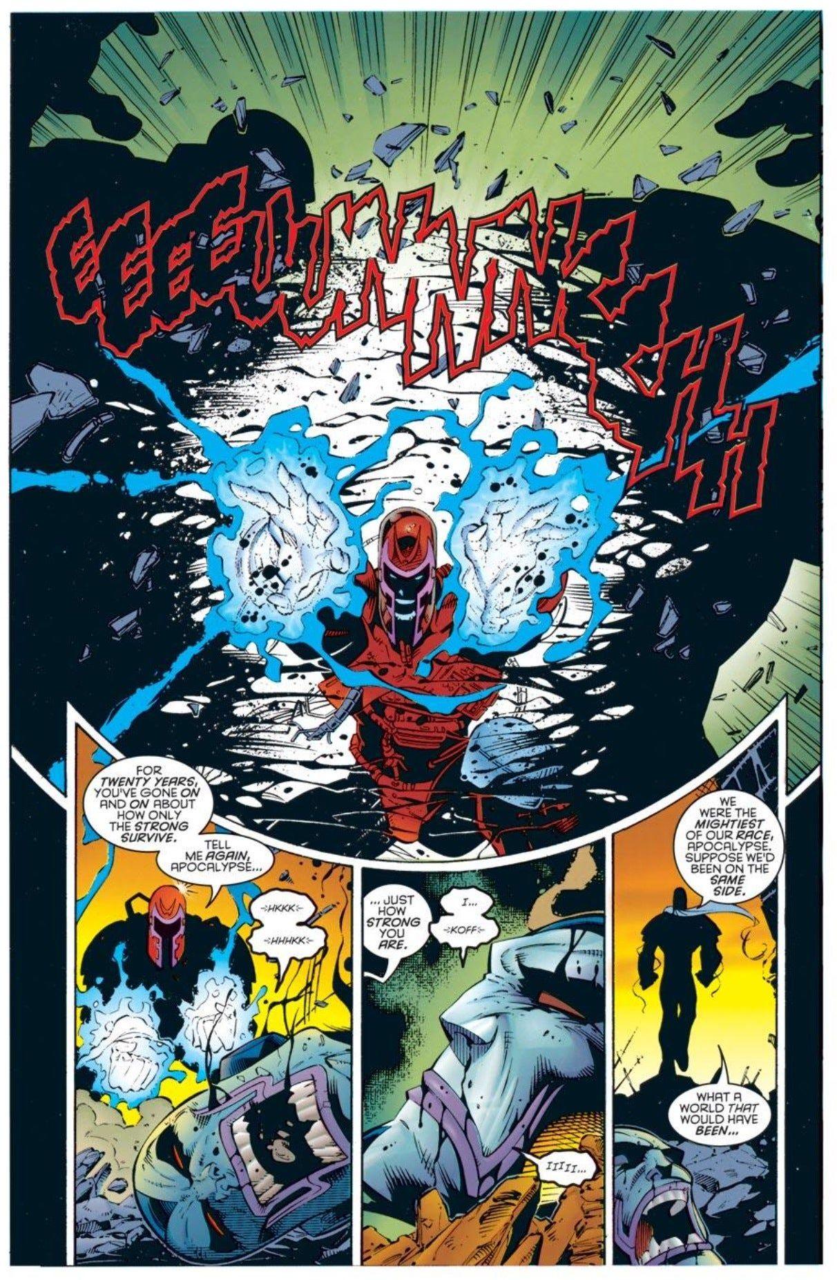 75 Most Iconic Marvel Comics Moments 75 61 Comics Apocalypse Marvel