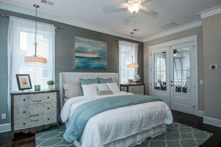 55 Handsome Farmhouse Master Bedroom Decorating Ideas Remodel Bedroom Coastal Master Bedroom Cozy Bedroom Design