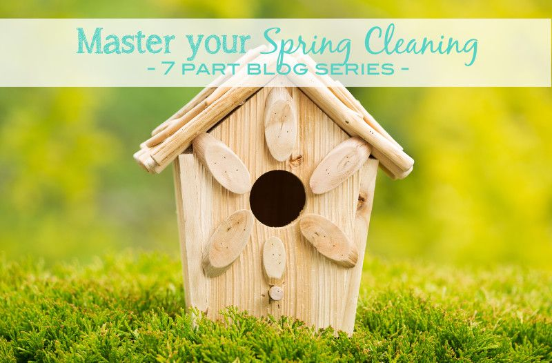 Master Your Spring Cleaning Series – Be sure to subscribe to this blog so you don't miss a single post. #forthehome #howto #springcleaning @SDExposures www.sdemagazine.com