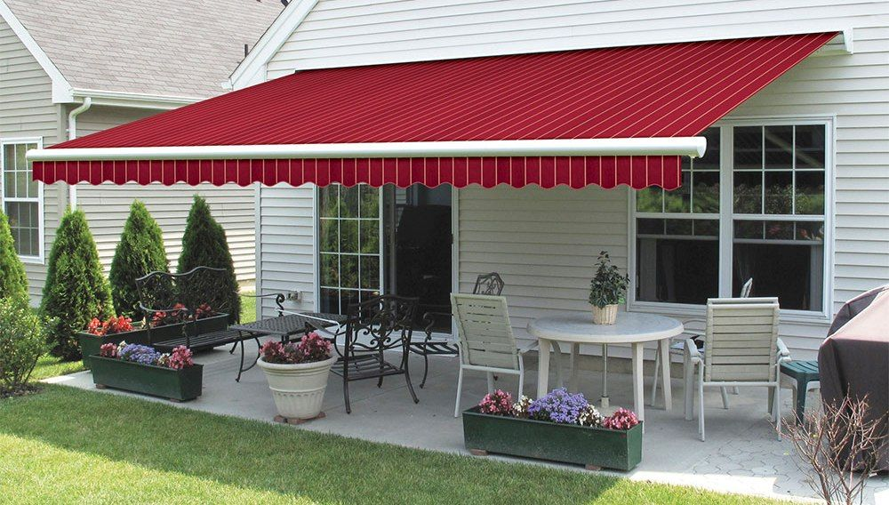 Residential Retractable Awnings Jamestown Awning And Party Tents Retractable Awning Awning Shade Awning