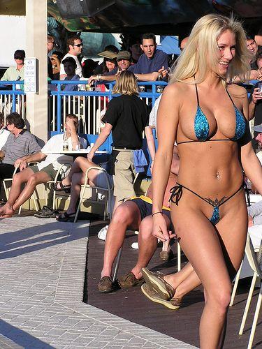 Extreme Bikinis In Public
