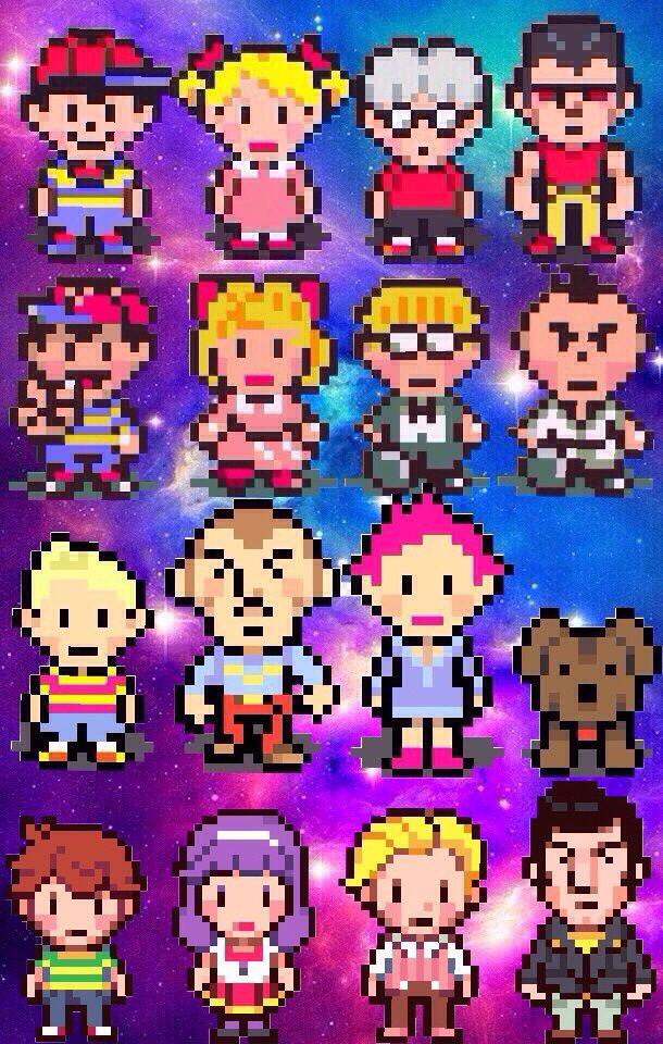 Earthbound Mother Wallpaper 2 Eartbound Mother Nintendo Wallpaper Galaxy Mario Characters Wallpaper Character