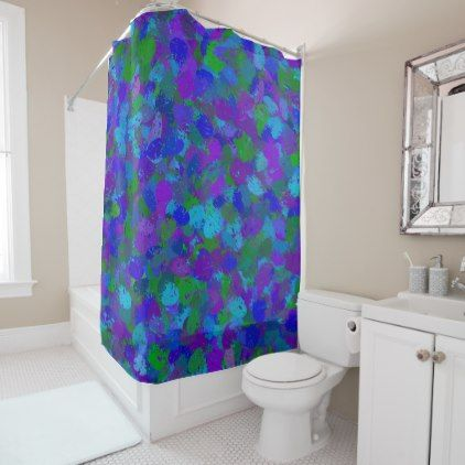 Pea Color Splashes 4755 Shower Curtain Curtains Home Decor Custom Idea Personalize Bathroom