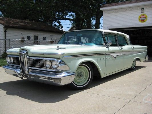 Ford Edsel Ranger Ford Cars And Car Vehicle