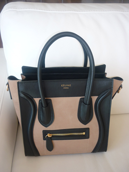 087a19d36c Celine bag - love the two-toned look taupe and black