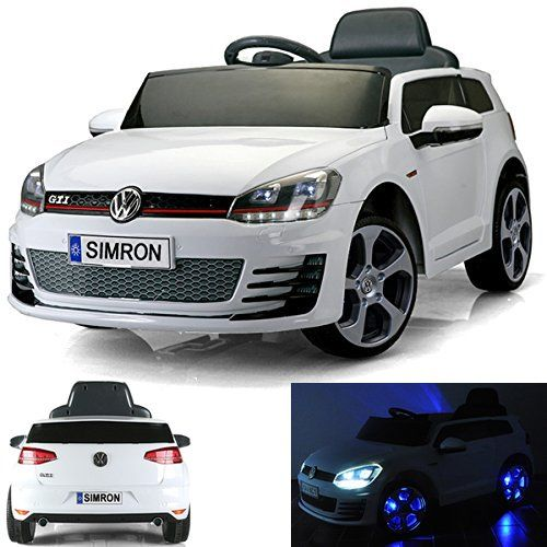 elektro kinderauto vw golf 7 kinderauto elektrisch kinder. Black Bedroom Furniture Sets. Home Design Ideas
