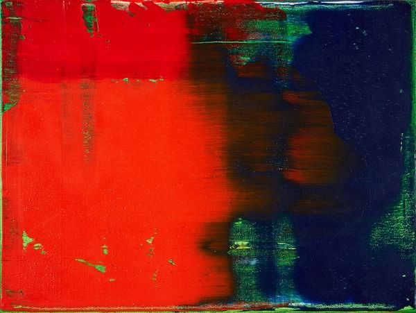 Gerhard Richter » Art » Paintings » Abstracts » Green-Blue-Red » 789-5